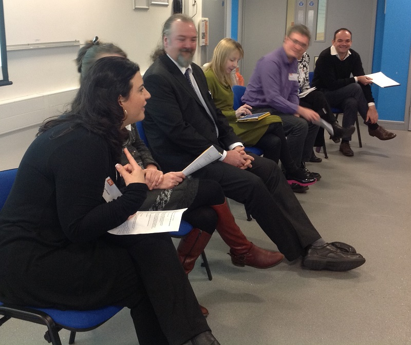 Participants in the panel session