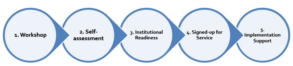 Institutional readiness - stages