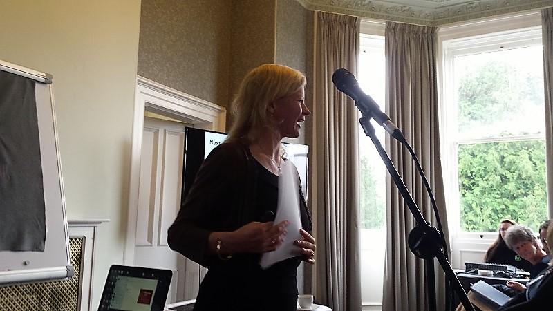 Prof Wendy Robinson presenting