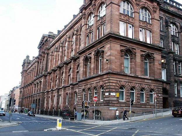 Royal College building, University of Strathclyde