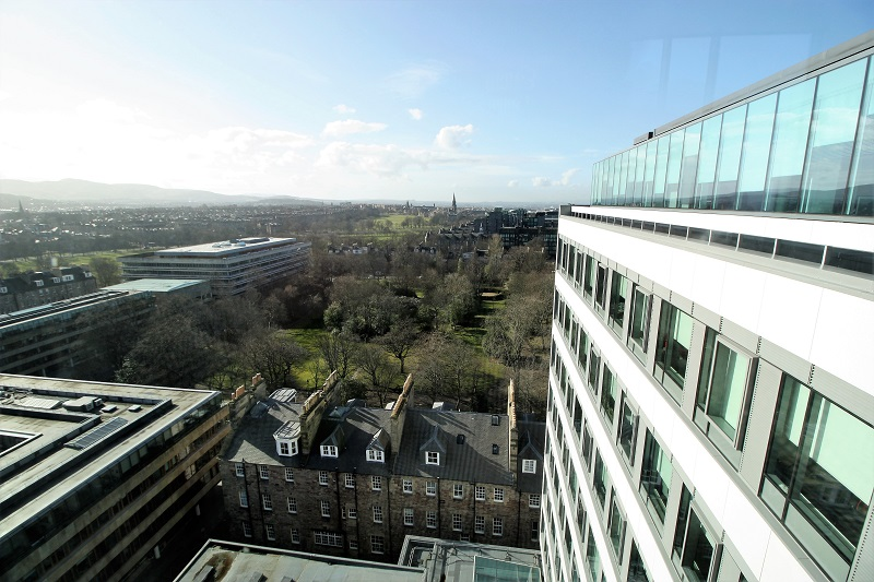 View from Appleton Tower